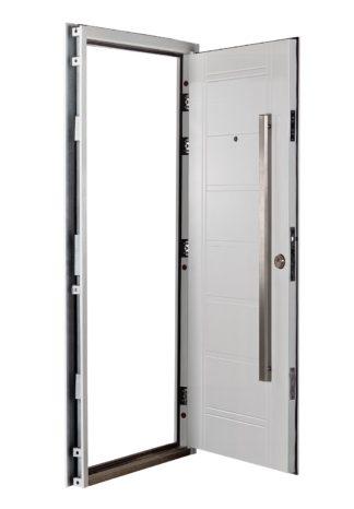 Puerta Multianclaje Izquierda BLANCA Barral RECTANGULAR 120 cm. B4810I