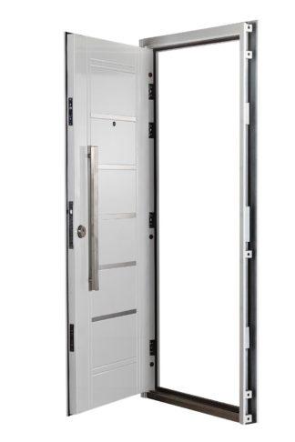 Puerta Multianclaje Derecha BLANCA Barral RECTANGULAR 75 cm y Apliques B4610D