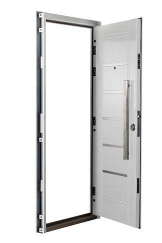 Puerta Multianclaje Izquierda BLANCA Barral RECTANGULAR 75 cm y Apliques B4610I