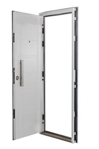 Puerta Multianclaje Derecha BLANCA Barral RECTANGULAR 40 cm. B4910D