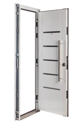Puerta Multianclaje Izquierda BLANCA Barral 75 cm y Apliques B4410I