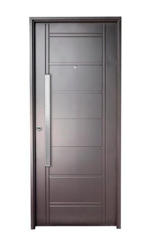Puerta Iny NEGRA Derecha BUÑAS barral RECTANGULAR 75 cm Ciega N1610D