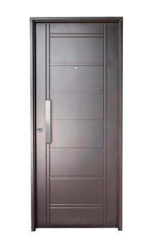 Puerta Iny NEGRA Derecha BUÑAS barral RECTANGULAR 40 cm Ciega N1910D