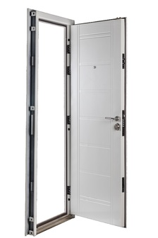 Puerta Multianclaje BLANCA con Picaporte Doble IZQ B-4712