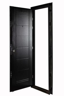 Puerta Multianclaje NEGRA sin Herrajes DER N-4011