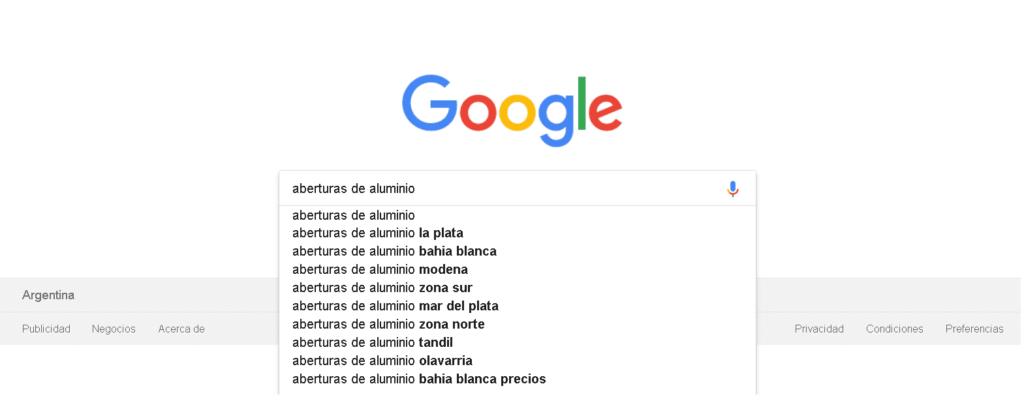 imagen de google argentina