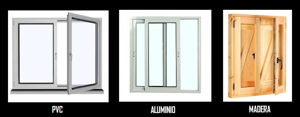 fotos de aberturas de madera PVC y Aluminio